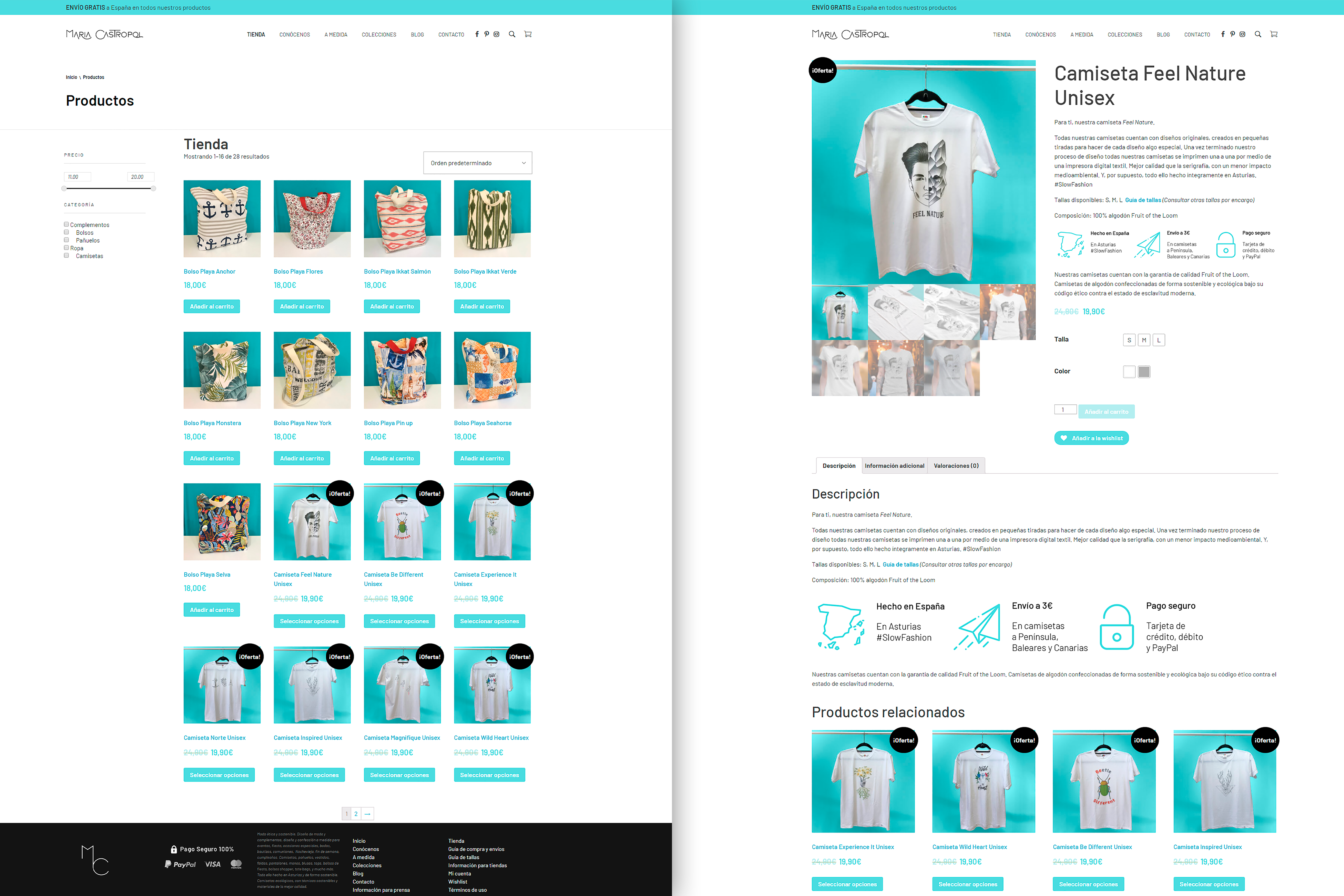 Fashion Brand Online Store Product Page